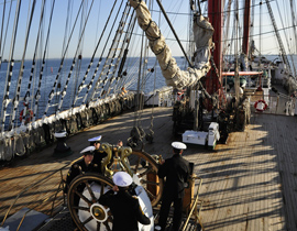 Взгляд с капитанского мостика